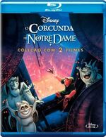 The Hunchback of Notre Dame 2-Movie Brazil Blu-Ray