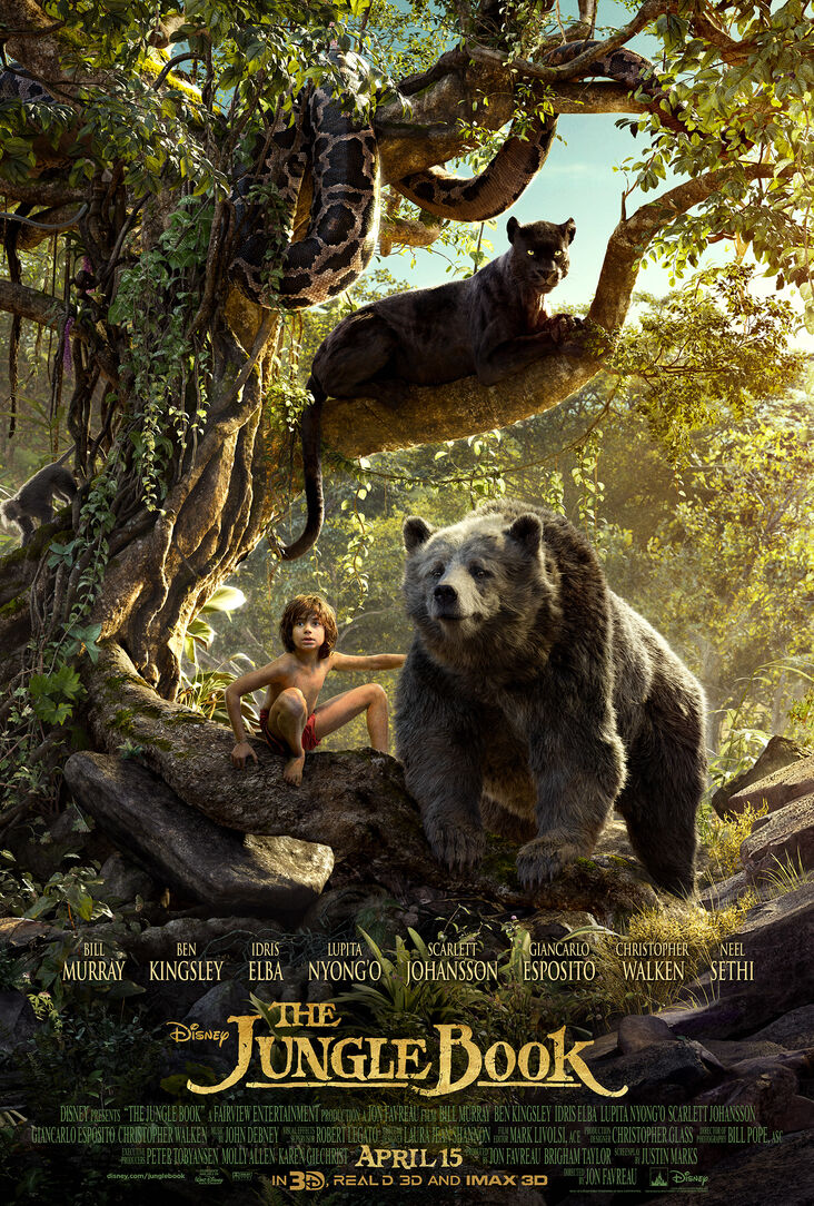 The Jungle Book (2016) 1080p 1.8GB 3D HSBS BluRay Dual Audio (Hindi 5.1-English 2.0) mkv