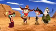 The Old Old West - Sashi, Sheriff Scaley Briggs, Penn and Boone