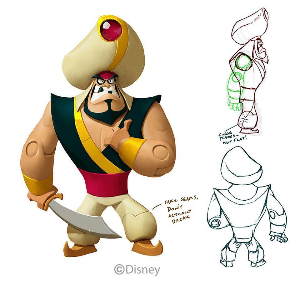 Wreck it ralph disney infinity wiki fandom powered by - Art Of Disney Infinity 01 Jpg