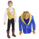 Disney BEAUTY AND THE BEAST Beast-to-Prince Doll