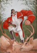 Gaston With Deer