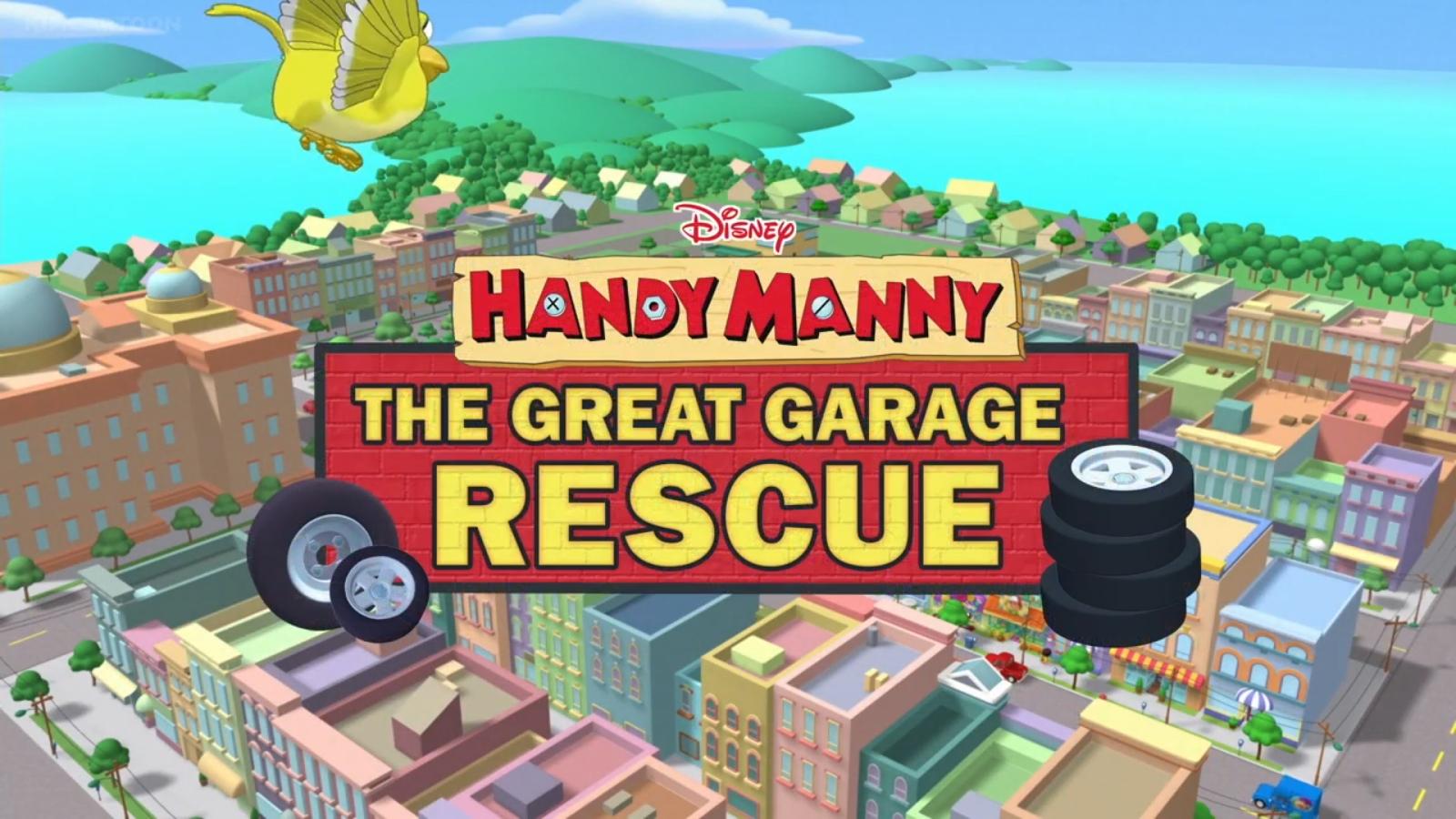 handy manny the great garage rescue disney wiki