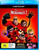 Incredibles 2 2018 AUS Blu Ray 2 Disc