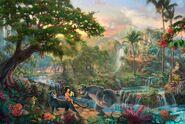 Kinkade-Wallpaper-The-Jungle-Book-Thomas-Kinkade-STUDIOS-Walt-Disney-painting-animation