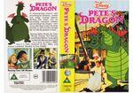 Pete's Dragon (1988 UK VHS)