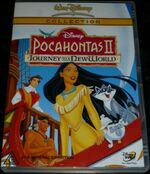 Pocahontas II Journey to a New World 2003 AUS DVD