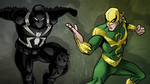 Agent Venom and Ultimate Iron Fist USMWW