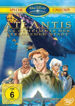 Atlantis the Lost Empire 2002 Germany DVD