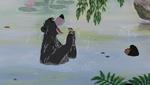 Baloo and Mowgli In Water