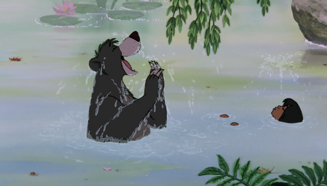 File:Baloo and Mowgli In Water.png