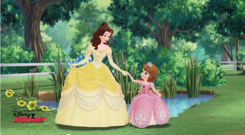 Image Belle In Sofia The First 7 Png Disney Wiki Fandom