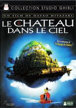 Castle in the Sky French DVD