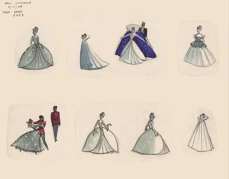 Image - Cinderella Ballgown Concept Art 1.jpg | Disney Wiki | FANDOM ...