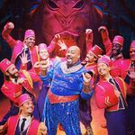 Genie on Aladdin the Broadway Musical 1