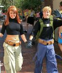 Kim and Ron Holding Hands at WDW