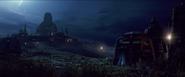Luke Skywalker's Jedi Temple in Star Wars The Last Jedi