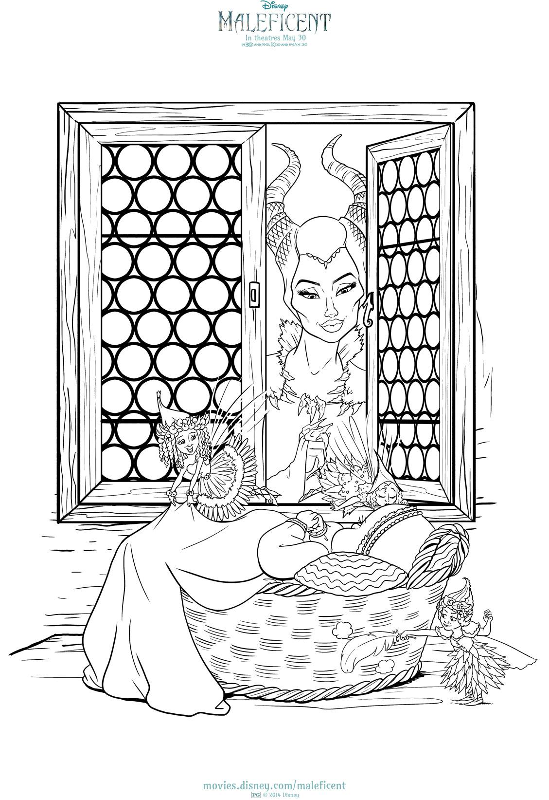 Image - Maleficent Colour ins 3.jpg | Disney Wiki | FANDOM powered ...