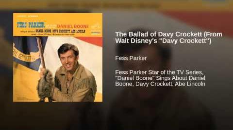 """The Ballad of Davy Crockett (From Walt Disney's """"Davy Crockett"""")"""