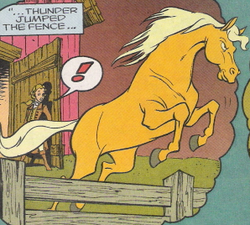 Thunder Beauty and the Beast Marvel comics