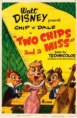 Two chips and miss poster