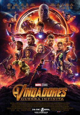 Vingadores - Guerra Infinita - Pôster Nacional