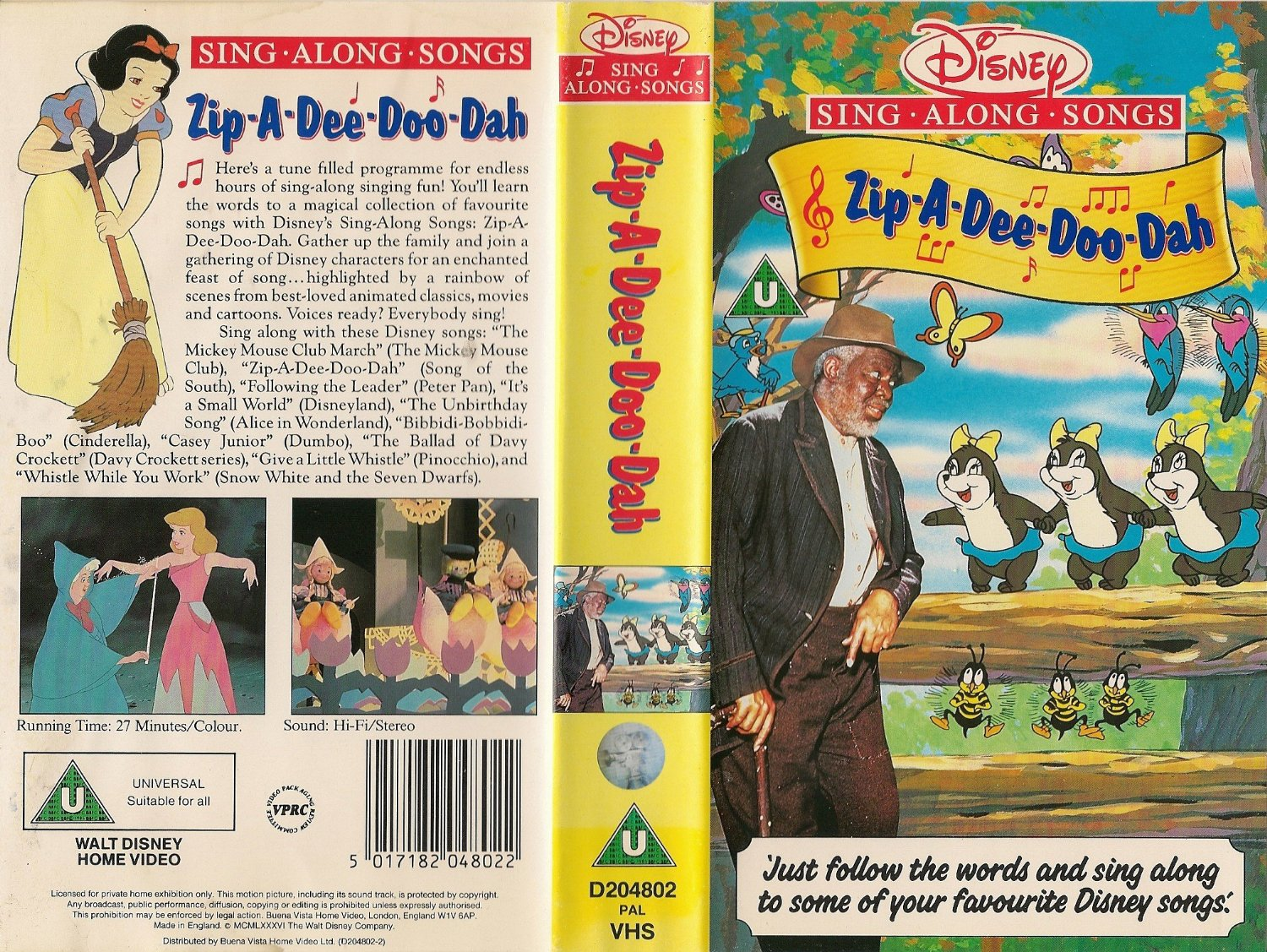 Disney Sing Along Songs Zip A Dee Doo Dah Disney Wiki