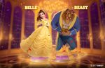 Disney Magical Dice Belle and Beast Promo