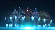 Iron Man's Armors