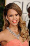 Jessica Alba Golden Globes 2015