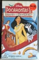 Pocahontas II Journey to a New World 1999 AUS Rental VHS