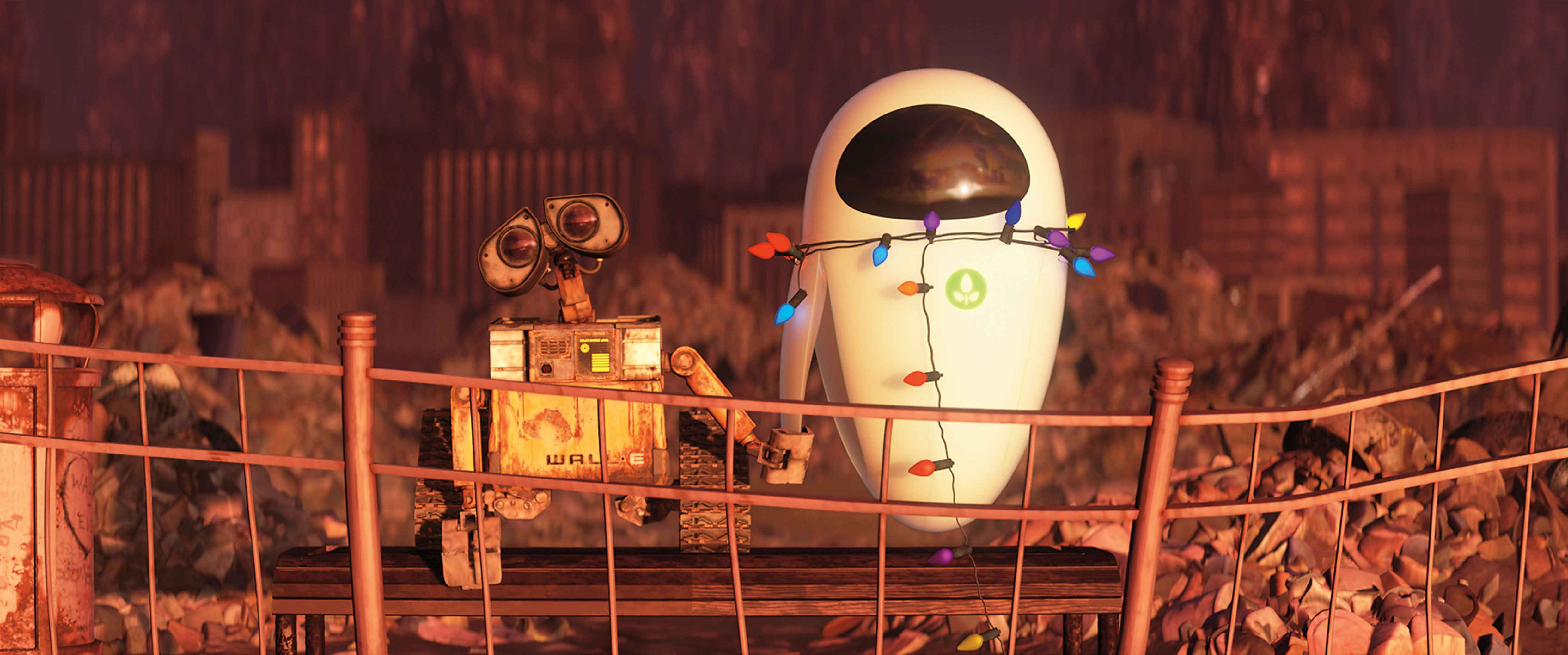 image - walle-eve-bench-lg | disney wiki | fandom poweredwikia