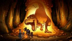 Тираннозавр - Гравити Фолз