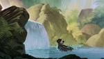 Baloo Making Big Splash