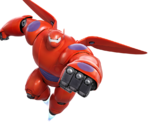 Baymax Inflight Render