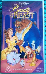 Beauty and the Beast 1993 AUS VHS