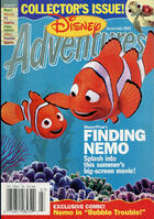 Disney Adventures Magazine cover June July 2003 Finding Nemo