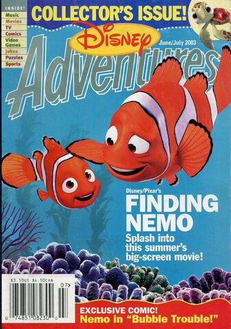 File:Disney Adventures Magazine cover June July 2003 Finding Nemo.jpg