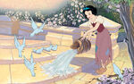 Disney Princess Snow White's Story Illustraition 1