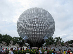 Epcot's Spaceship Earth 2008