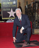 Malcolm McDowell Hollywood Walk of Fame