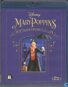 Mary Poppins 2014 Dutch Blu Ray