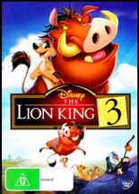 The Lion King 3 2012 AUS DVD