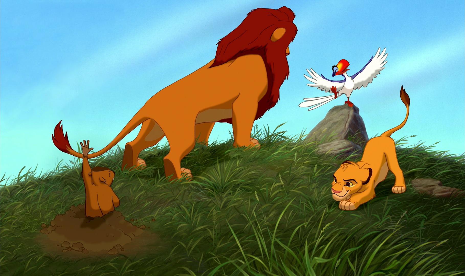 Lion king morning report finnish to english
