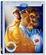 BeautyAndTheBeast201625th AnniversaryEditionBlu-ray