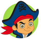 Captain Jake and the Neverland Pirates logo