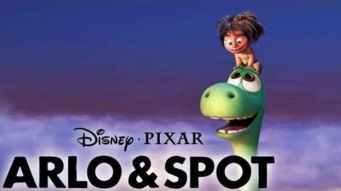 Das Pixar Vermächtnis - 20 Jahre Freundschaft wie bei ARLO & SPOT Ab 26.11.2015 im Kino - Disney HD