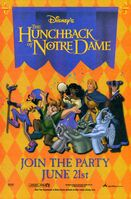 Disney's The Hunchback of Notre Dame - Promotional Print Ad and Poster