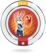 Disney INFINITY Meter Maid Judy Power Disc
