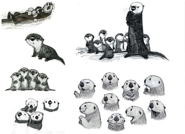 File:Finding Dory Otters Concept Art.jpg
